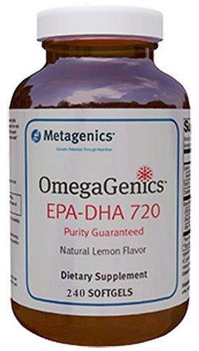 Metagenics - Omegagenics™ Epa-dha 720 Lemon 240 Softgels