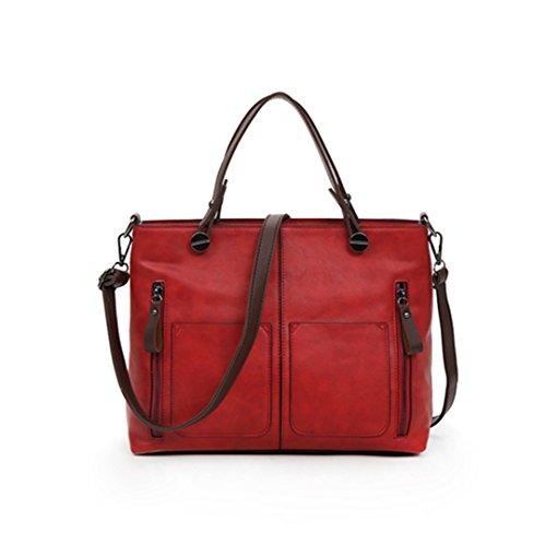 Femmes Bag épaule à de Casual main Sacs Red capacité à Messenger Sacs sacs grande main Designer bleu Sacs IPIpv