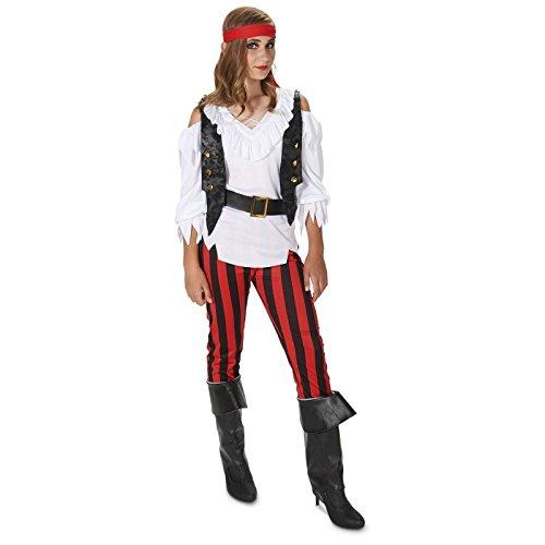 Rebel Pirate Girl Child Costume M (8-10) (Girl Pirates)