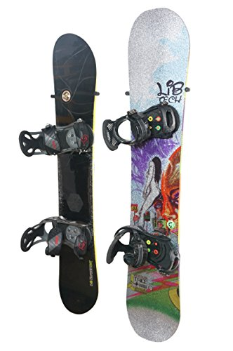 The Cinch - The Simple Snowboard Wall Mount - StoreYourBoard - Snowboard Binding Screws