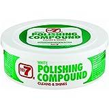 No7 07610 White Polishing Compound - 10 oz