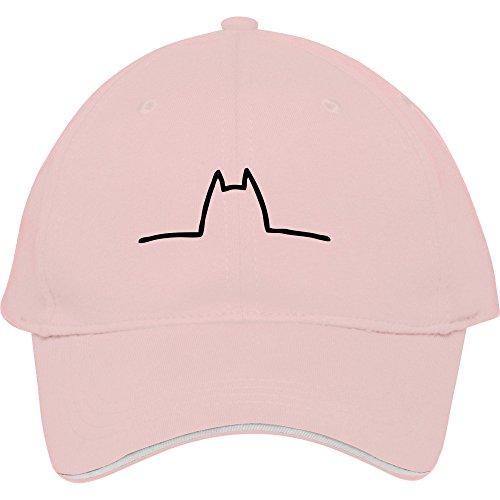 Male/female Cotton Baseball Cap Outdoor Casual Snapback Caps Hatscat Costume Pink Kelvigibbs (Caterpillar Costumes)