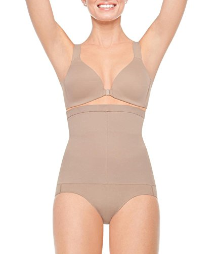 Spanx Higher Power Brief 234S,High-Waisted Panty (A, Bare)