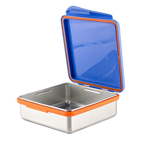 Kid Basix by New Wave Safe Snacker-Stainless Steel Lunchbox for Food Storage - New Wave Dip