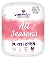 Slumberdown All Seasons 3-in-1 Combination Duvet, King Size, 15 Tog (4.5+10.5) All Year Round