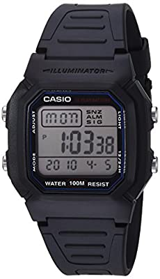 Casio Men's Quartz Resin Sport Watch(Model: W-800H-1AVCF) by Casio