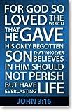John 3:16 (Mini Tract, NKJV) (Packet of 100, NKJV)