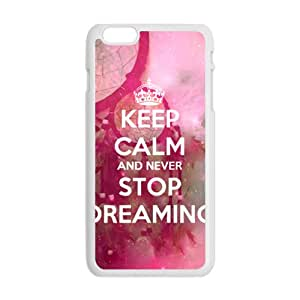 Never Stop Dreaming Cell Phone Case for Iphone 6 Plus