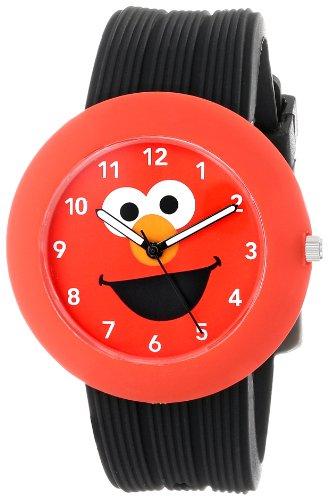 (Sesame Street SW614EL-1 Elmo Rubber Watch Case)