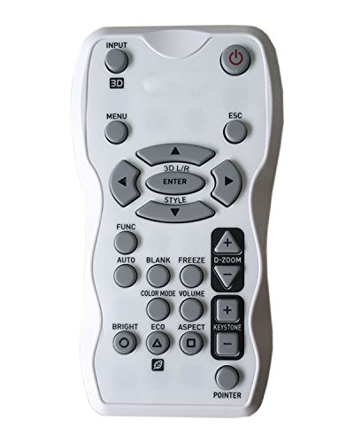 Universal Replacement Remote Control Fit for Casio XJ-M140 XJ-M150 XJ-M155 XJ-M240 XJ-M250 XJ-M255 Projector AllureEyes