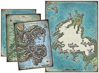 Dungeons & Dragons- Set de mapas de la Tumba de la Aniquilación ...
