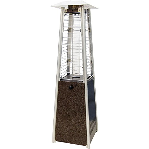 Hanover HAN0202HB Mini Pyramid Tabletop Propane Patio Heater (Large Image)