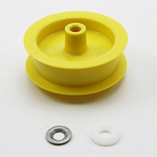 Idler Pulley Wheel (PART # WE12X81 OR AP2620211 GENUINE FACTORY OEM ORIGINAL DRYER IDLER PULLEY WHEEL FOR GE AND HOTPOINT)