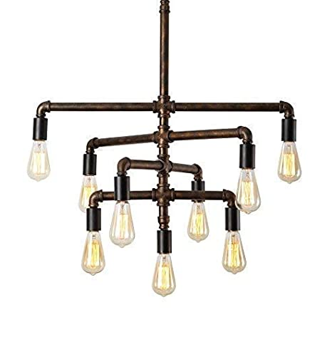 SEOL-LIGHT Barn Adjustable Pipe Chandeliers Pendant Hanging Lighting on vintage invitation ideas, western wedding ideas, new home ideas, microsoft excel ideas, table of contents ideas, creative room ideas, cool ideas, twitter ideas, save the date ideas, curl ideas, school room ideas, rain gutter ideas, operating system ideas,