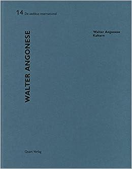 Walter Angonese - Kaltern: De aedibus international