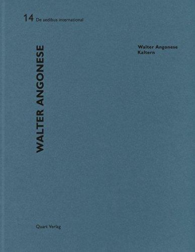 Download Walter Angonese - Kaltern: De aedibus International 14 pdf