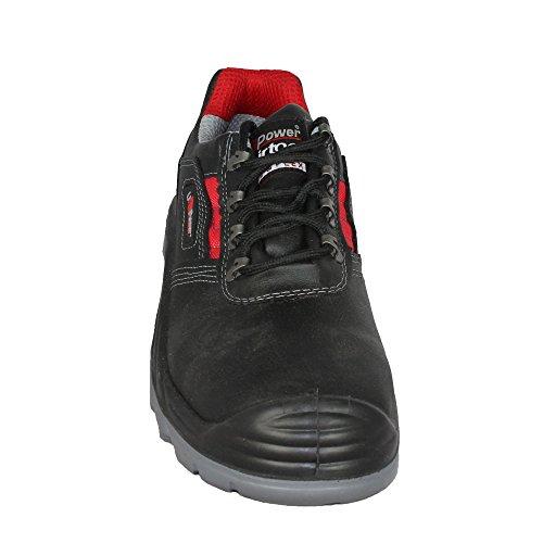 UPOWER - Calzado de protección de Piel para hombre Negro - negro