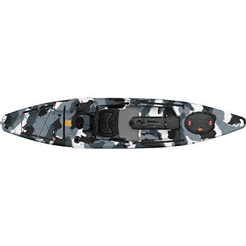 Feelfree Moken 12.5 Fishing Kayak - 12ft8/Winter Camo