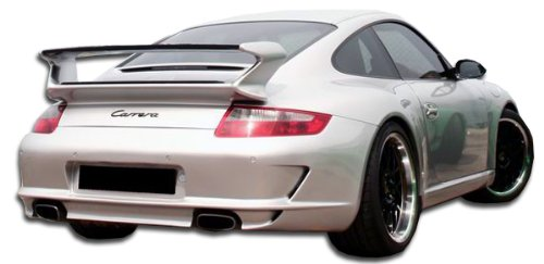 (Duraflex ED-MSG-569 GT-3 Look Rear Bumper Cover - 1 Piece Body Kit - Compatible For Porsche 997 2005-2008)