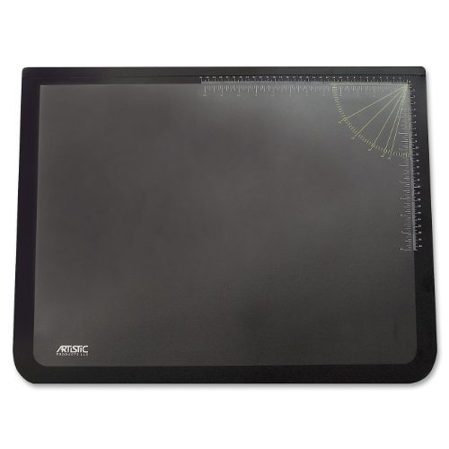 ogo Pad Lift-top Desk Pad, Black/Clear ()