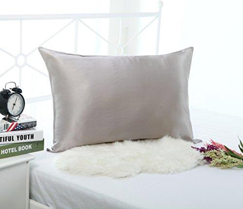 19mm 100% Premium Luxury Pure Mulberry Silk Pillowcase for H