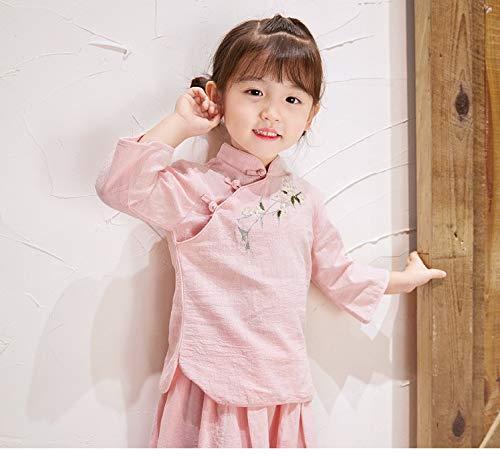 lunghe Acvip maniche di a shirt Pink T Girls qvPFw7xIfH