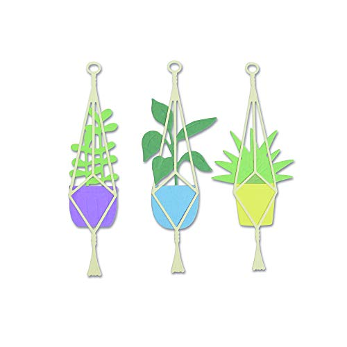 Sizzix 663321 Hanging Planter Dies, One Size, Multicolour ()
