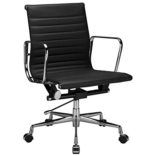 poly-and-bark-ribbed-office-chair-with-italian-leather-black