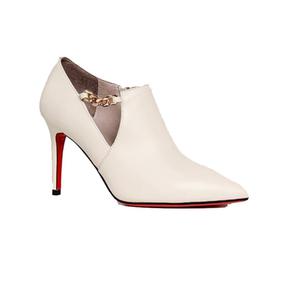 ZPEDY Chaussures pour Talons Femmes, Pointues, B07CVHNS19 Talons Hauts, Chaussures Basses, pour Mode, Polyvalent, élégant, Confortable White 3da2946 - shopssong.space