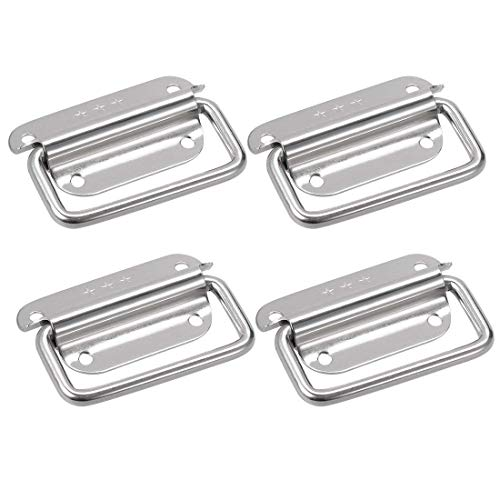 Rannb Stainless Steel Puller Boxes Chest Handle Pull Handle - Pack of 4 (Medium)