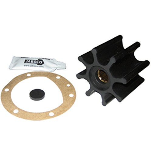 Jabsco Impeller Kit - 8 Blade - Neoprene - 2-9/16 Diameter x 2 W, 5/8 Shaft Diameter Marine , Boating Equipment