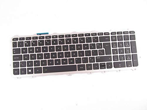KinFor Brand Keyboard for Dell Studio 1735 1737 1736 TR334 0TR334 NSK-DD001 US Black + Clear Protector Cover -