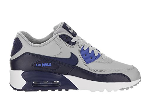 ca77747fd17 ... Nike Air Max 90 Ltr Gs - zapatos de gimnasia Niños Gris (Wolf Grey