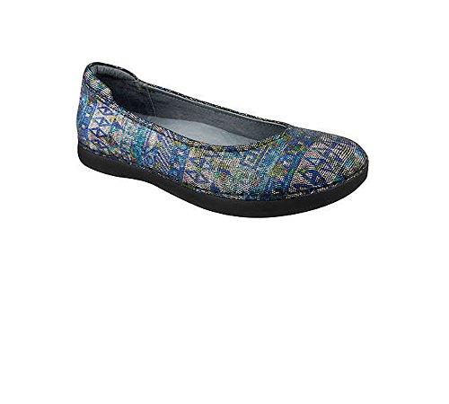 Alegria Petal Ballet Flat Slip On Loafer Shoe Rave on Nile Womens 9 PET-321