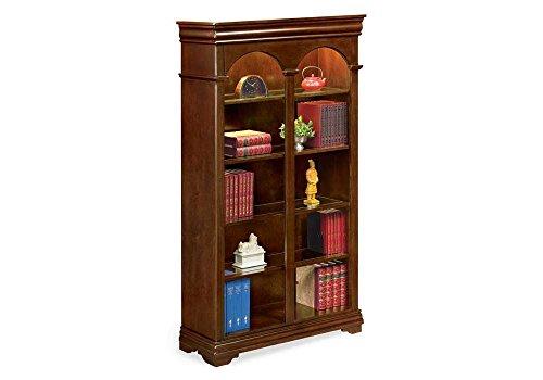 - Ten Shelf Double Arched Bookcase - 78