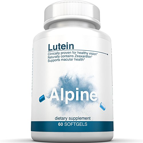 Alpine Lutein 20mg With Zeaxanthin 60 Softgel Eye Vitamins