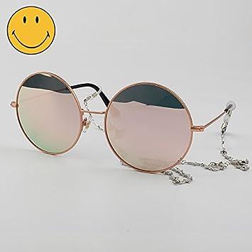 VVIIYJ Gafas de Sol Redondas de Caja Grande Gafas de Sol ...
