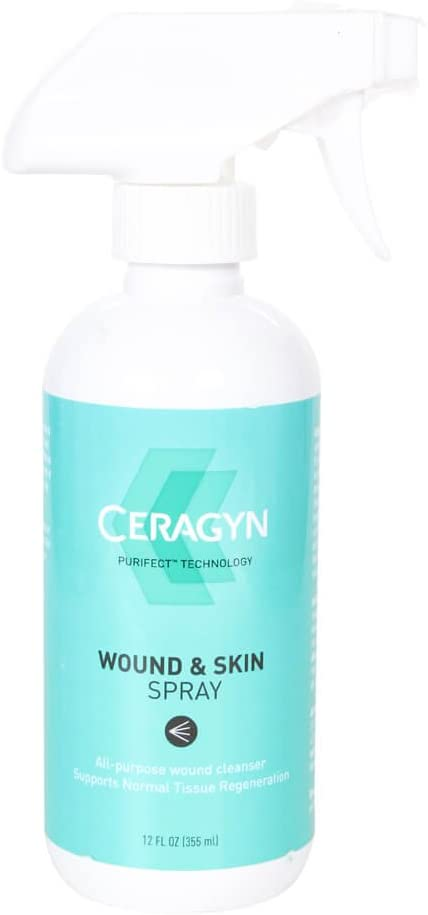 Ceragyn Wound and Skin Formula for Pets, 12-Ounce