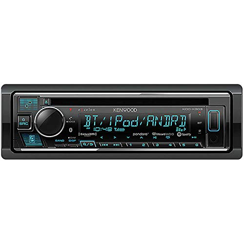Kenwood eXcelon CD Receiver with Bluetooth (Kenwood Car Stereo Face)