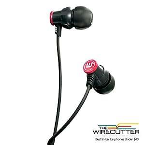 Brainwavz Delta Black IEM In Ear Earbuds Noise Isolating Earphones Remote Headset Apple iPhone & Android