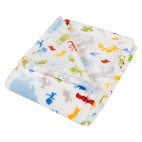 Trend Lab Plush Baby Blanket, Multi Dr. Seuss Friends]()