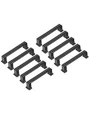 10 stuks 96 mm zwarte handgrepen voor keukenkast, meubels
