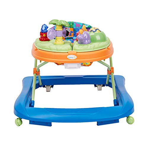 411gaEqOWHL - Safety 1st Dino Sounds 'n Lights Discovery Baby Walker With Activity Tray