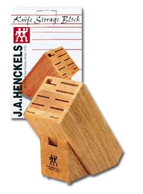 "J.A. Henckels 35101-922 Knife Block, 10.75"" x 7.25"" x 4.50"""