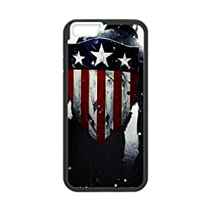 Captain-America iPhone 6 Plus 5.5 Inch Cell Phone Case Black bdxl