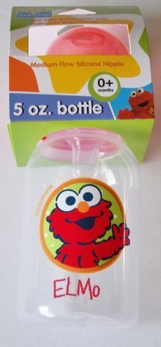 Sesame Street Beginnings BPA Free Medium Flow Silicone Nippl
