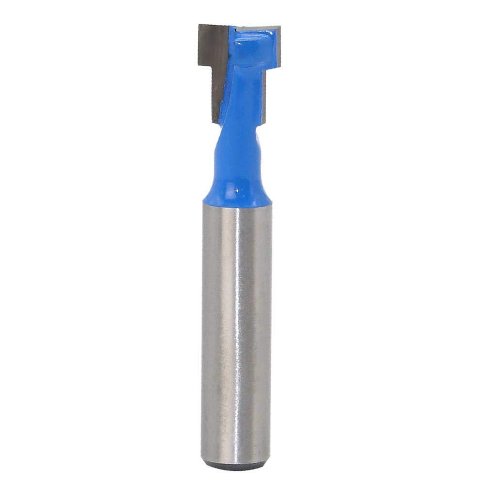 Fraise à rainure en T 8 mm en métal dur 8 dents par favourall