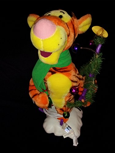 Animated Disney Tigger Christmas Tree Telco Motion-ette Doll (Dolls Christmas Animated)