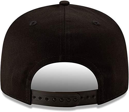 New Era Seattle Seahawks Hat NFL Black White 9FIFTY Snapback Adjustable Cap Adult One Size
