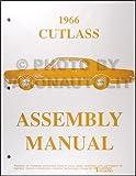 1966 Oldsmobile Cutlass 442 F-85 Assembly Manual Reprint